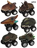 Enkman Dinosaur Vehicle, 6PCS Wind-up Car Toy, Creative - Best Reviews Guide