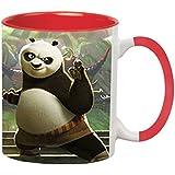 Kung Fu Panda Ceramic Printed Mug By Impresion - IMPMUG-Red-1598
