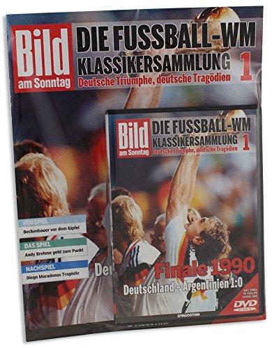 Fussball WM Klassiker DVD 1 Finale Rom 1990 Deutschland - Argentinien 1:0 FIFA Weltmeisterschaft Deutsche Nationalmannschaft DFB Spiel in voller Länge auf DVD (inkl. Magazin in Folie) (Italien World-cup-champions)