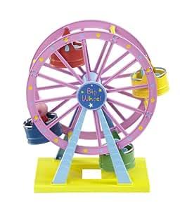 Peppa Pig – Theme Park – Big Wheel – La Grande Roue – Manège et Figurine (Import Royaume-Uni)