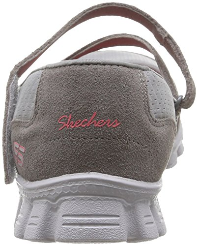 Skechers - Ez Flex 2 A Game, Mary Jane Donna Grau - Gris (Gycl)