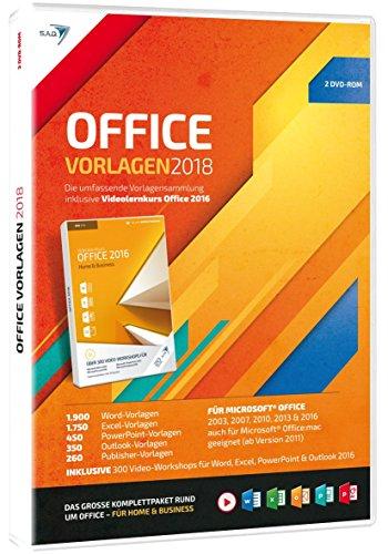 S.A.D Office Vorlagen (2018) mit Videolernkurs (2 CDs)