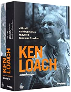 Coffret Ken Loach 4 DVD : Raining Stones / Riff Raff / Ladybird / Land & Freedom
