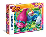 Clementoni 26586.2 - Maxi 60 T Trolls-You're invited to this party, Puzzle