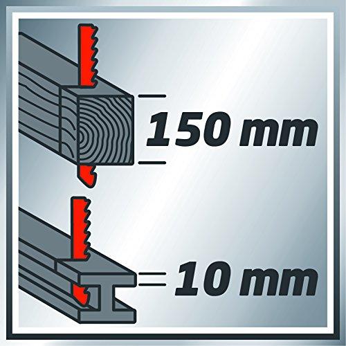 Einhell Universalsäge TC-AP 650 E (650 W, max. 150 mm in Holz, Hubzahlregelung, inkl. Sägeblatt für Holz) - 8