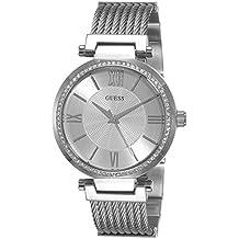 Guess Reloj analogico para Mujer de Cuarzo con Correa en Acero Inoxidable W0638L1