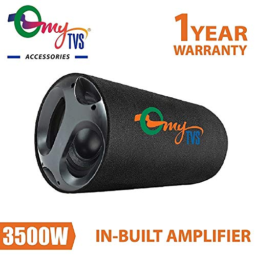 Buy MyTVS TBT-8 8 Inches Active Bass Tube with in Built Amplifier for All Car online in India at discounted price