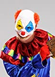 Adultos Halloween Máscara de media cara de payaso asesino terror
