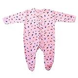 BRIM HUGS & CUDDLES Baby's Cotton Jump Suit(3-12 months,Pink)