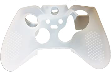 Hytech Plus Xbox One Controller Ultra Grip Silicone Sleeve (White)