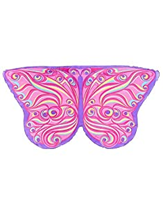 DREAMY DRESS-UPS 62355Fantasy Mariposa Alas para Niña (Talla única)