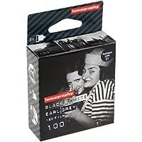 Lomo, Earl Grey B/N, 100 ISO, 120 pellicole fotografiche (confezione da 3)