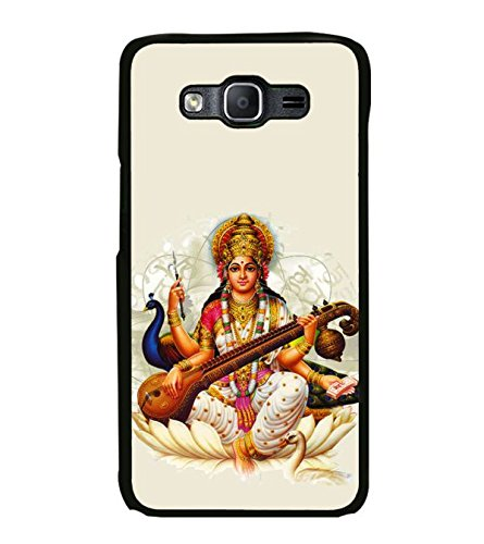 Fuson Designer Phone Back Case Cover Samsung Galaxy On5 Pro (2015) :: Samsung Galaxy On 5 Pro (2015) ( Goddess Saraswati And Her Peacock )