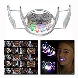 OFKPO Clignotant LED Lumière Embouchure Dents Light Party Halloween Protection Jouet de Party Cadeau