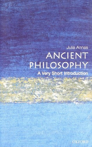 [(Ancient Philosophy: A Very Short Introduction)] [ By (author) Julia Annas ] [January, 2001]