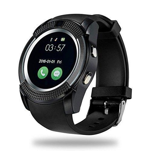Estar Bluetooth Smartwatch for All Devices (Black)