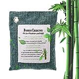 Lesgos Sac purificateur d'air, Charbon de Bois activé assainisseur d'air, Bambou...