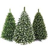 AmeliaHome 07843 220 cm Künstlicher Weihnachtsbaum PVC Tannenbaum Christbaum Kiefer Lemmy Weihnachtsdeko