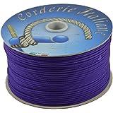 Corderie Italiane 6037651 - 00 Hobby Trenza, 3,0 Mm-200 Mt, Viola, color: violeta