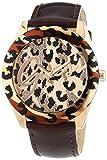 Guess Damen-Armbanduhr Analog Quarz Leder W0455L3