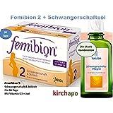FEMIBION Schwangerschaft 2 * Set mit Schwangerschaftsöl 100 ml