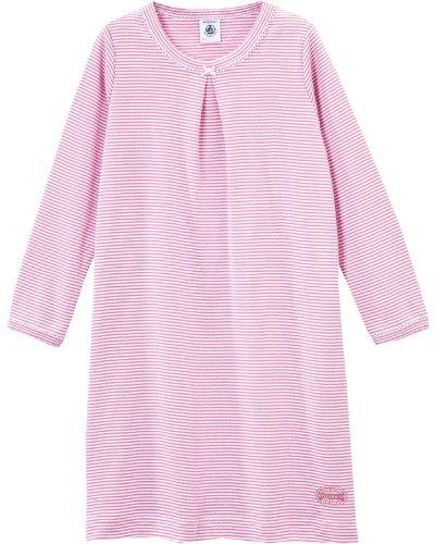 Petit Bateau -  Camicia da notte  - ragazza rosa 5 anni