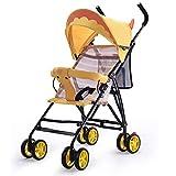 Kinderwagen, Ultra Leichter faltender faltender Spaziergänger, Sommer sitzender Kinderwagen,A