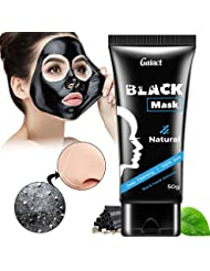 PREMIUM Natural Charcoal Mask: Activated Peel-Off Bamboo Mask For Blackhead Removal – Deep Facial Cleansing Black Mask For The Nose, Cheeks And Chin – Pore Minimizing Face Mask For Flawless Skin