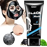 Natural Charcoal Mask By Galact: Activated Peel-Off Bamboo Mask For Blackhead Removal � Deep Facial Cleansing Black Mask For The Nose, Cheeks And Chin � Pore Minimizing Face Mask For Flawless Skin