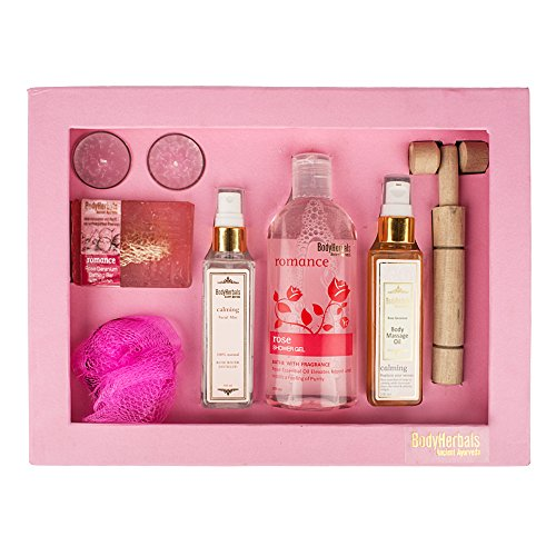 Beauty Gifts for Women bodyherbals rose essentials gift set (gifting idea for all occasions birthday, anniversary, wedding, beauty, personal care, and bath kits BodyHerbals Rose Essentials Gift Set (Gifting Idea for all Occasions Birthday, Anniversary, Wedding, Beauty, Personal Care, and Bath Kits 513Qg0r HLL