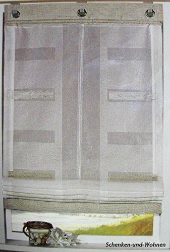 zugrollo-raffrollo-weiss-stickerei-rechtecke-in-hellbraun-80-x-150-cm