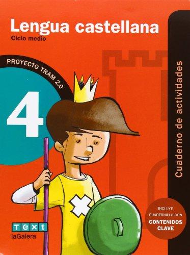 TRAM 2.0 Cuaderno de actividades Lengua castellana 4 - 9788441221154