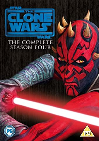 Star Wars: The Clone Wars - The Complete Season Four [DVD] [2012] [STANDARD EDITION] [Import anglais]