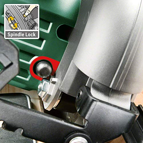 Bosch 18V Akku Kreissäge PKS 18 LI ohne Akku, Sägeblatt, Parallelanschlag, Karton (18 Volt System) - 4