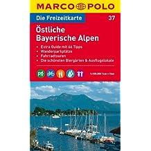 MARCO POLO Freizeitkarte Östliche Bayerische Alpen 1:100.000