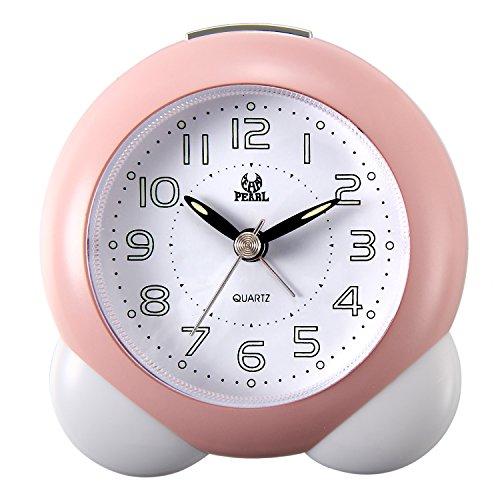 Lancardo Reloj Despertador Analógico Movimiento Cuarzo