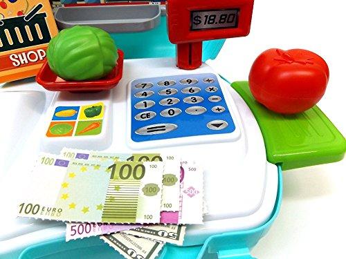 Brigamo 560 – Spielzeug Bio Kaufladen to go im Koffer - 5