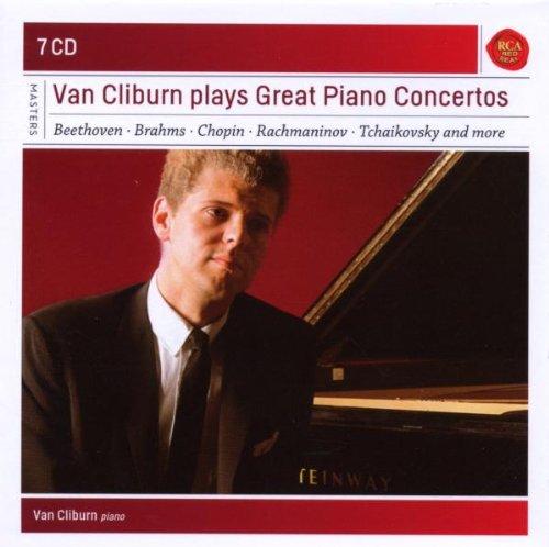 Van Cliburn: Grands concertos pour piano(Coffret 7 CD)