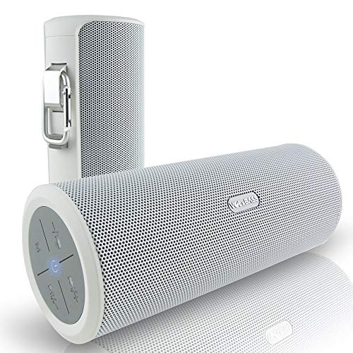 Altavoces Bluetooth inalámbricos de Graves y Volumen. Mejor Sonido de 360Grado de Alta fidelidad portátil y batería Externa Power Bank para iPhone iPad Mini Samsung AUX MP3Jugadores Manos Libres
