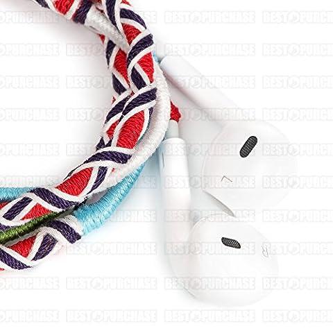 ÉCOUTEURS mains-libres pour téléphone portable, casques mobiles câble et microphone, écouteurs design tout à fait original, lecteur MP3, main libre universel, tablette,