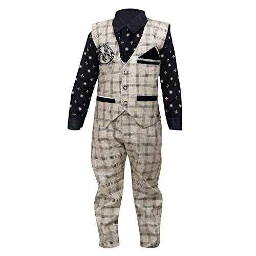 Krystle Boy's Waistcoat, Shirt and Trouser Set (4-5 Years)