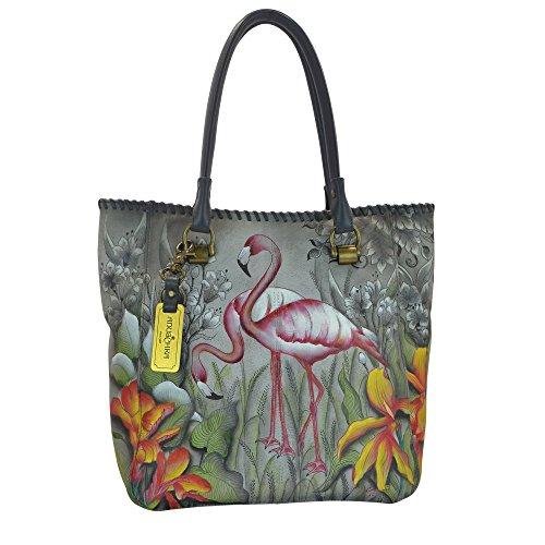 anuschka-bagage-cabine-flamboyant-flamingos-multicolore-609-ffg