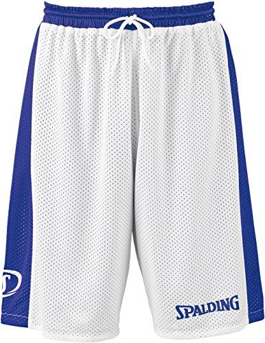 Spalding Essential Reversible Shorts Herren, royal/Weiß, XXS