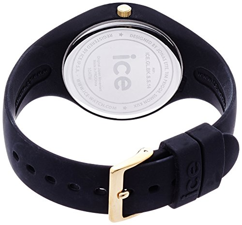 Ice-Watch - ICE glam Black - Schwarze Damenuhr mit Silikonarmband