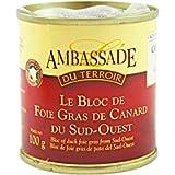 Bloc de Foie Gras de Canard du Sud-Ouest - 100 gr