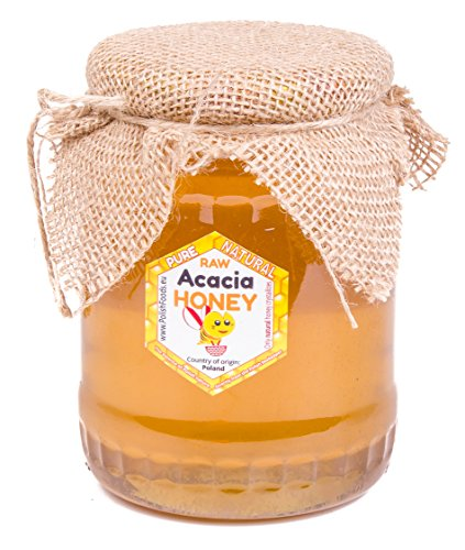 Miele di acacia. 1 kg. Miele direttamente dal polacco direttamente dal apicoltore. Non pastorizzato, biologico, naturale, organico. Molto sano e gustoso.