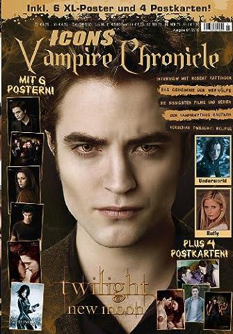 Icons Vampire Chronicles Twilight Limited Edition inkl. XXL/A1 Poster; mit 6 Postern + 4 Postkarten, allen Infos zu