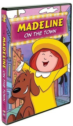 Madeline On The Town by Andrea Libman (Madeline Dvd)