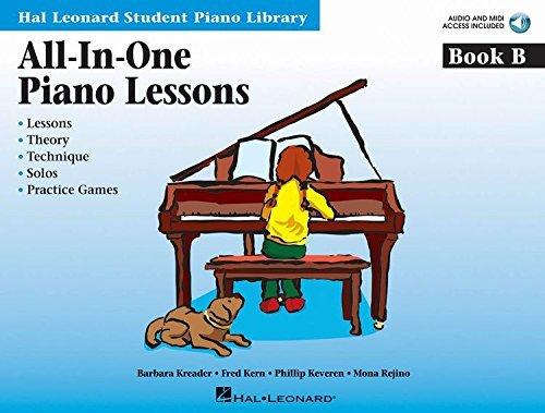 All-In-One Piano Lessons Book B: International Edition (Book)