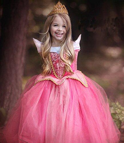 Eyekepper Dormir belleza traje de Aurora cumpleaños fiesta vestir 120cm